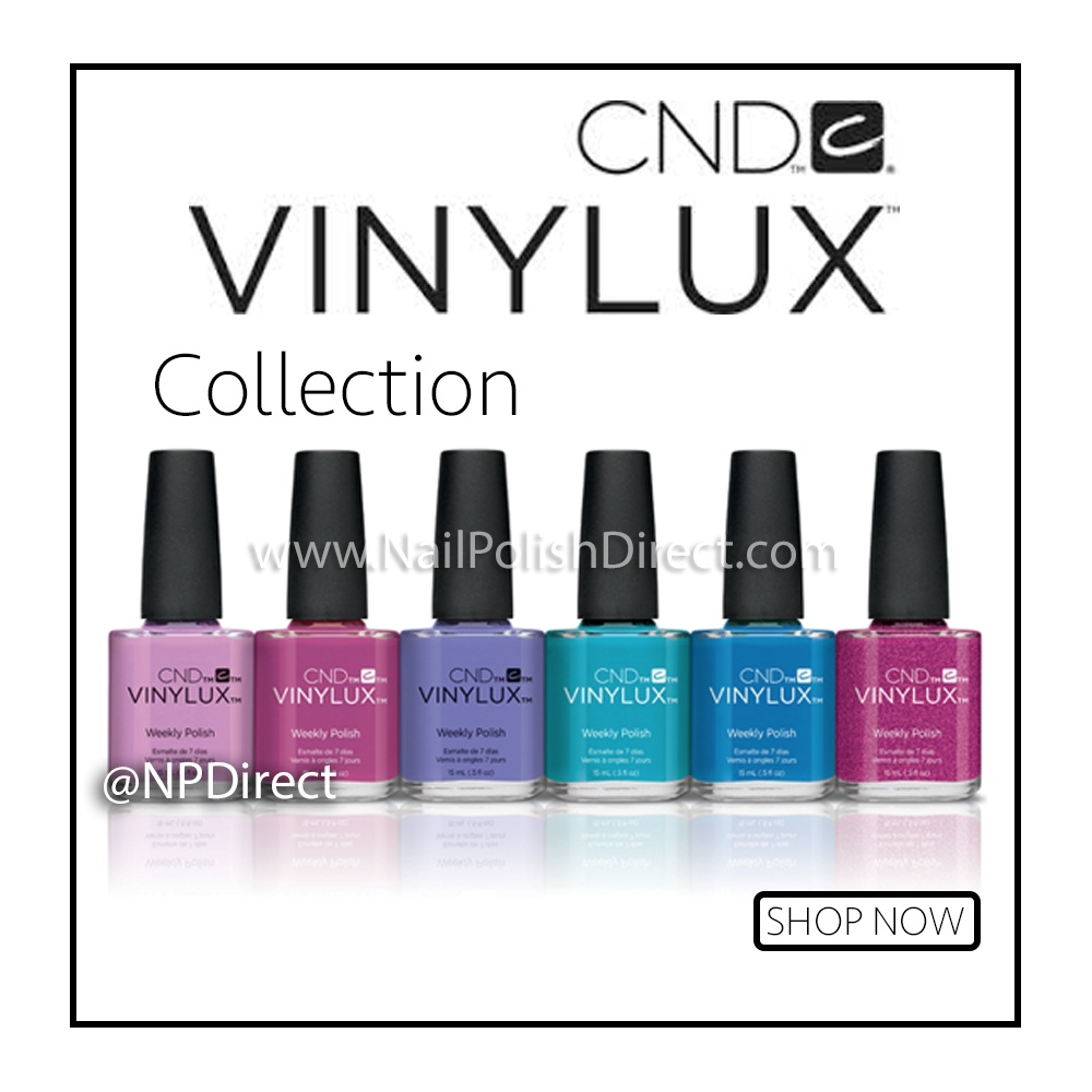 Summer 2015 Nail Colours: CND Vinylux Garden Muse Weekly Nail Polish 2015 Wisteria