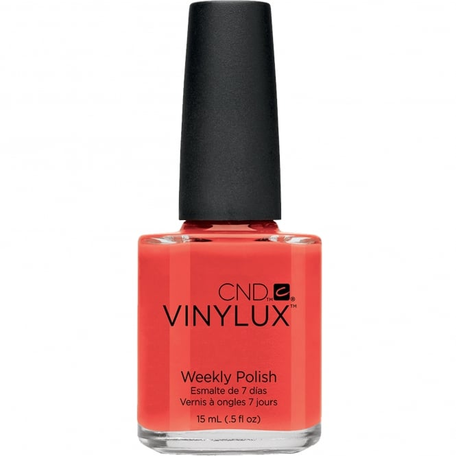 CND Vinylux Paradise Collection Weekly Nail Polish - Electric Orange (112) 15ml