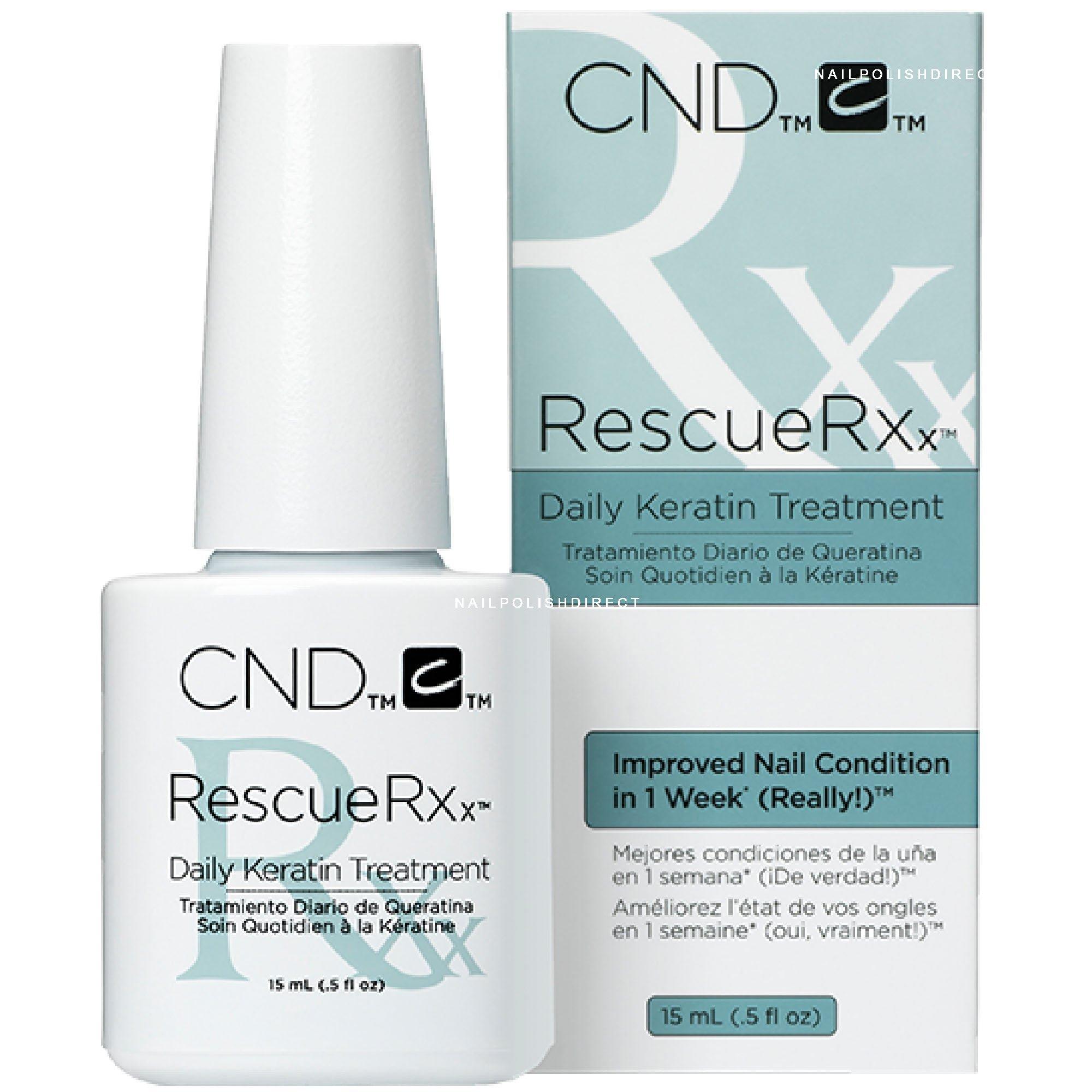 CND Rescue RXx - Daily Keratin Treatment (050) 15ml