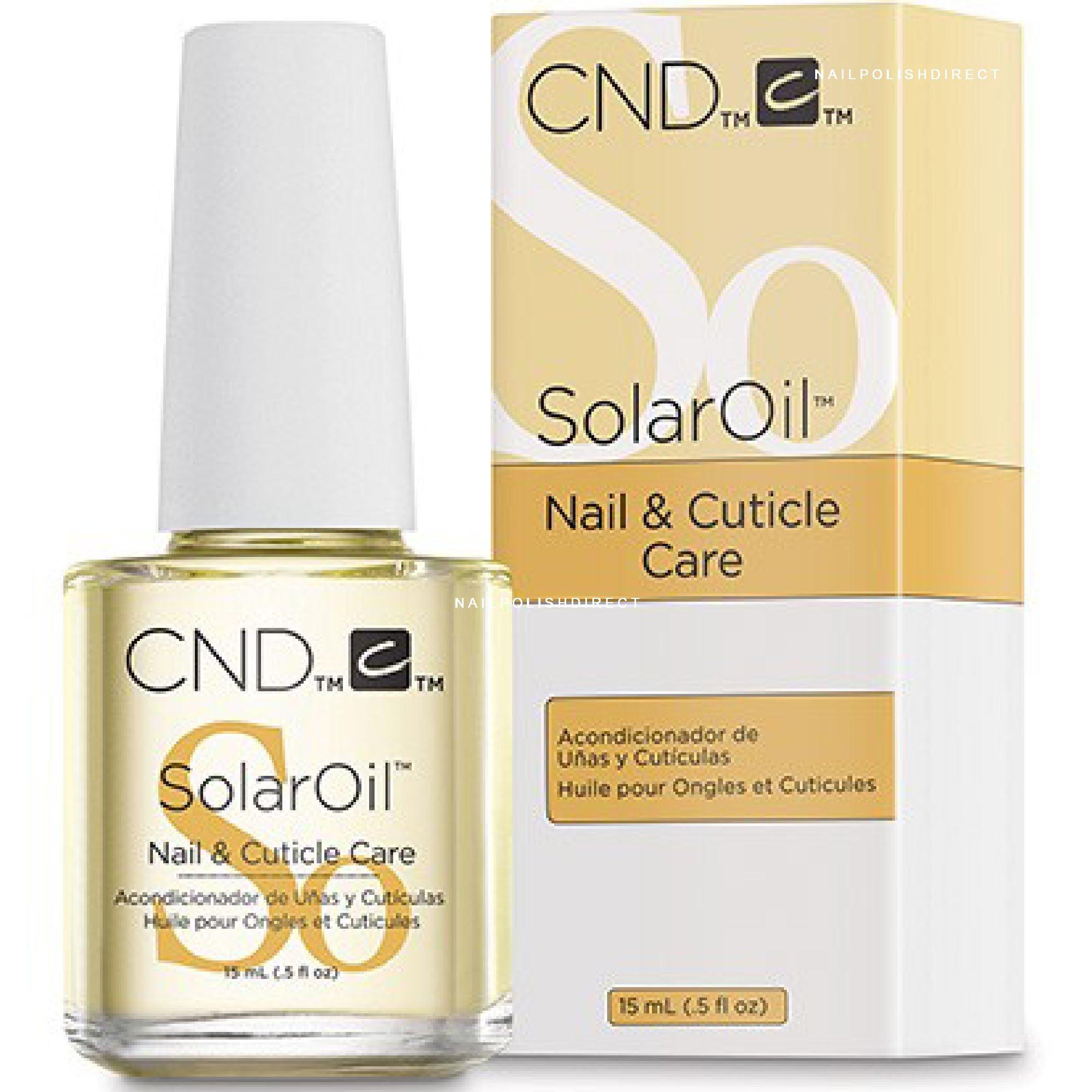 CND Solar Oil - Nail & Cuticle Care (015) 15ml