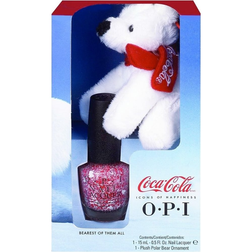 OPI Coca Cola 2014 Limited Edition Nail Polish Collection - Bearest Of    Opi Coca Cola