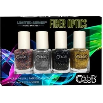 Limited Series Fiber Optics Nail Polish Collection - 4-Piece Mini Set (4x 7mL)