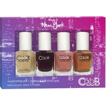 Made In New York Nail Polish Collection - 4 Piece Mini Gift Set (4x 7mL)