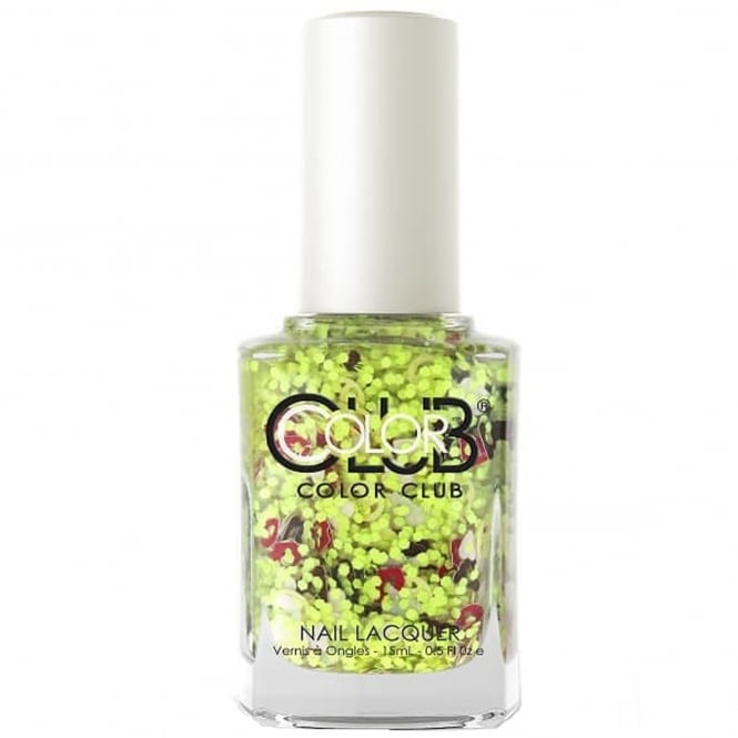 Color Club Nailmoji Neon Nail Polish Collection- JK (05ALS34) 15ML