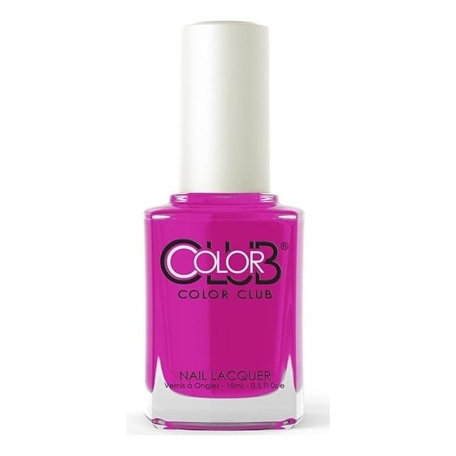 Color Club Poptastic Neons Nail Polish Collection - Peace Out Purple 15mL (AN23)