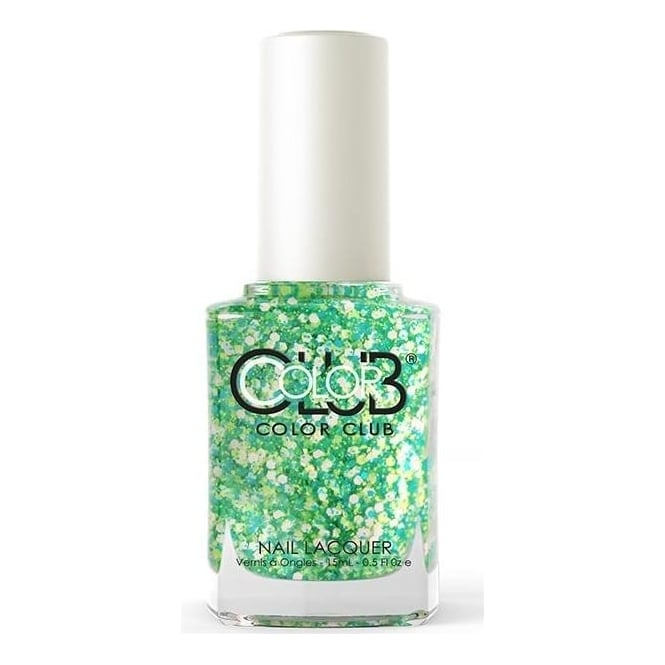 Color Club Poptastic Remix Nail Polish Collection - Go Go Green 15mL (ANR04)