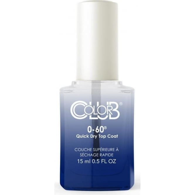 Color Club Professional Treatment 0 to 60 - Quick Dry Topcoat 15ml