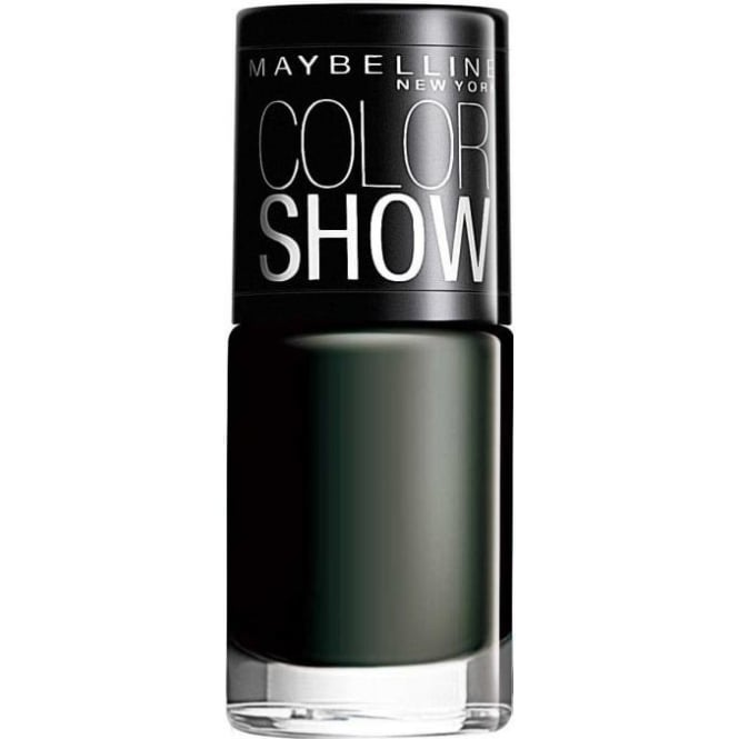 Maybelline Color Show Nail Polish - Blackout 7ml (677)