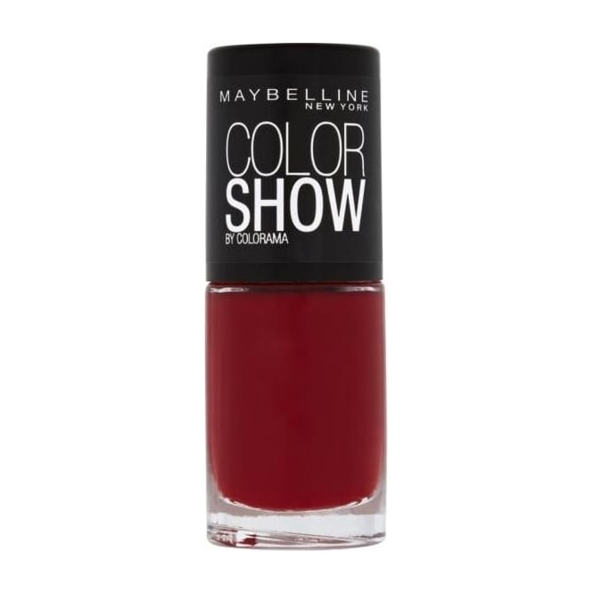 Maybelline Color Show Nail Polish - Downtown Red 7ml (352)