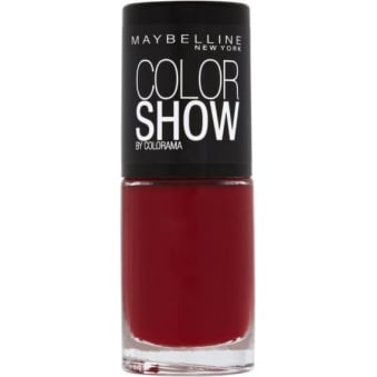 Color Show Nail Polish - Downtown Red 7ml (352)