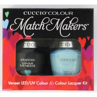 Colour Cocktail Collection - Veneer UV/LED Polish Match Maker Sets - Blue Hawaiian 2 x 13ml