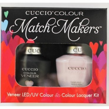 Colour Cocktail Collection - Veneer UV/LED Polish Match Maker Sets - Pink Champagne 2 x 13ml