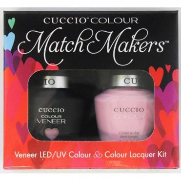Colour Cocktail Collection - Veneer UV/LED Polish Match Maker Sets - Pink Lady 2 x 13ml
