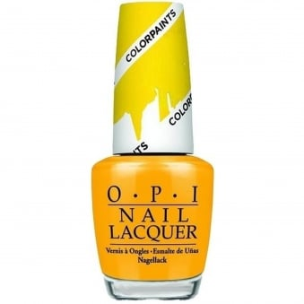 Colour Paints Creative & Blending Nail Polish Collection - Primarily Yellow 15ml (NL P20)
