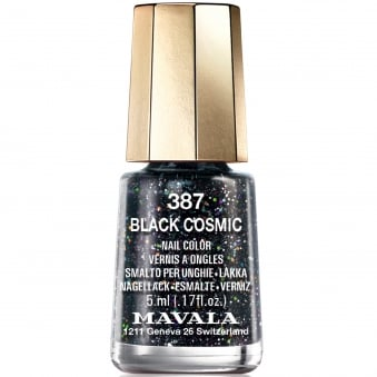 Cosmic Nail Polish Collection - Black Cosmic (387) 5ml