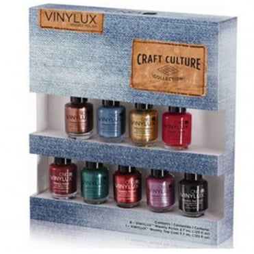 Craft Culture Weekly Nail Polish 2016 Colour Collection - 9 Piece Mini (9 x 3.7ml)