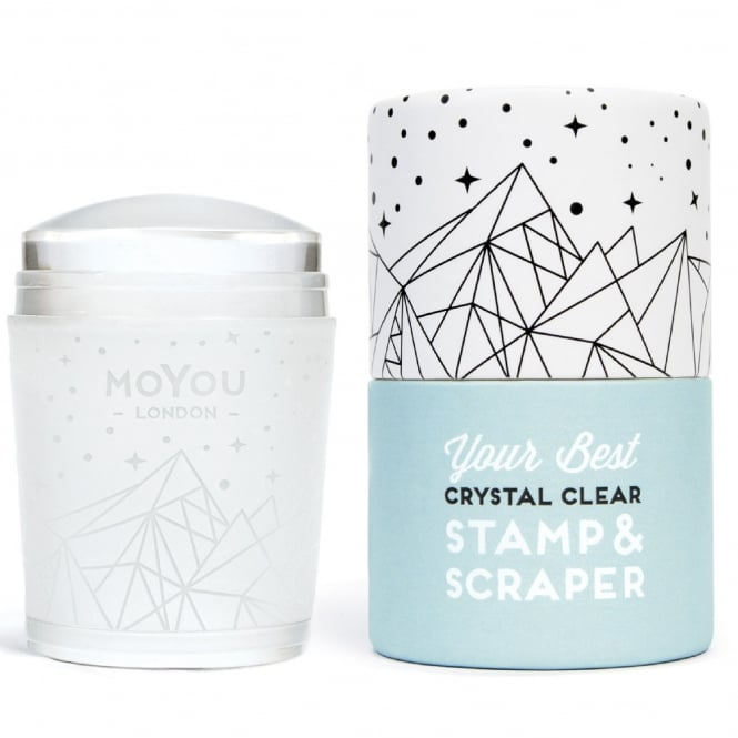 MoYou London Crystal Clear - Stamper & Scraper (MSCC)