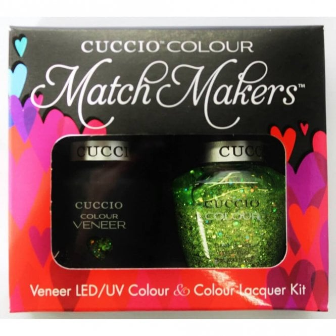 Cuccio Best Night Ever Veneer UV/LED Polish Match Maker Sets - Shake it Up x2 13ml (6094LEDMATCHMAKER)