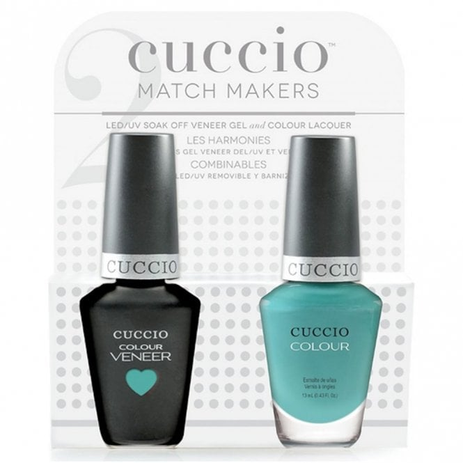 Cuccio Cinema Noir 2016 Collection Veneer UV/LED Polish Match Maker Sets - Who Dunn It x2 13ml