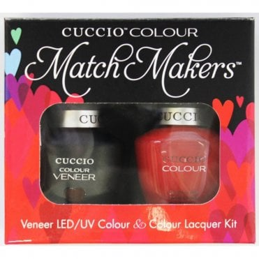 Colour Cocktail Collection - Veneer UV/LED Polish Match Maker Sets - Bloody Mary 2 x 13ml