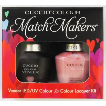 Colour Cocktail Collection - Veneer UV/LED Polish Match Maker Sets - Strawberry Colada 2 x 13ml