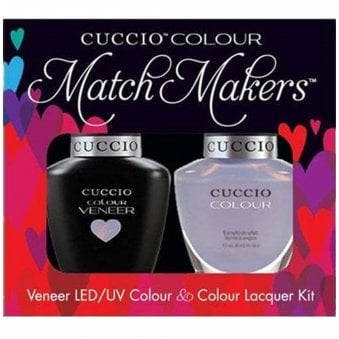 Colour Cruise Collection - Veneer UV/LED Polish Match Maker Sets - Message In A Bottle x2 13ml