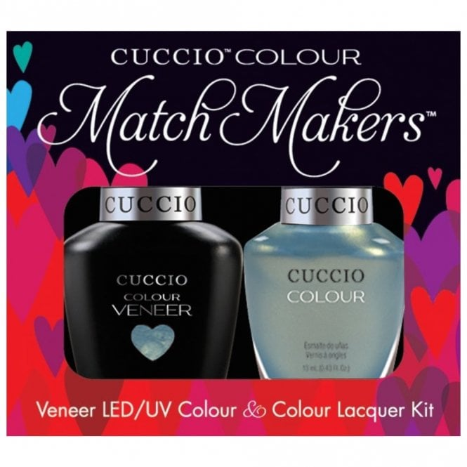 Cuccio Colour Cruise Collection - Veneer UV/LED Polish Match Maker Sets - Shore Thing x2 13ml (6185LEDMATCHMAKER)