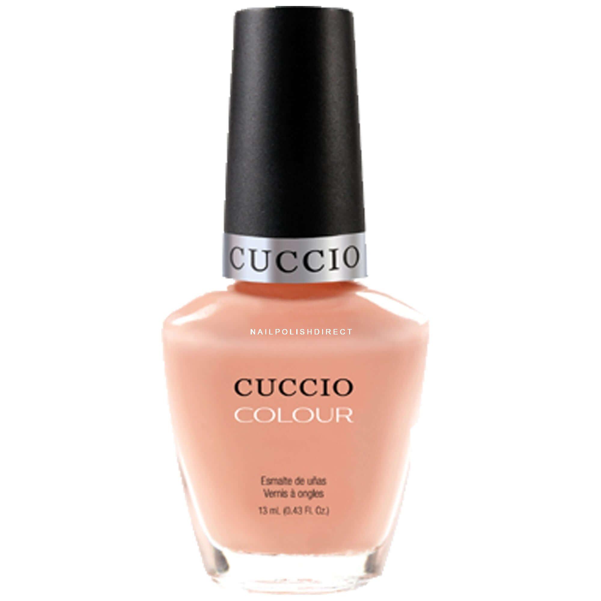 Cuccio Life\'s a Peach Colour Nail Polish 13ml