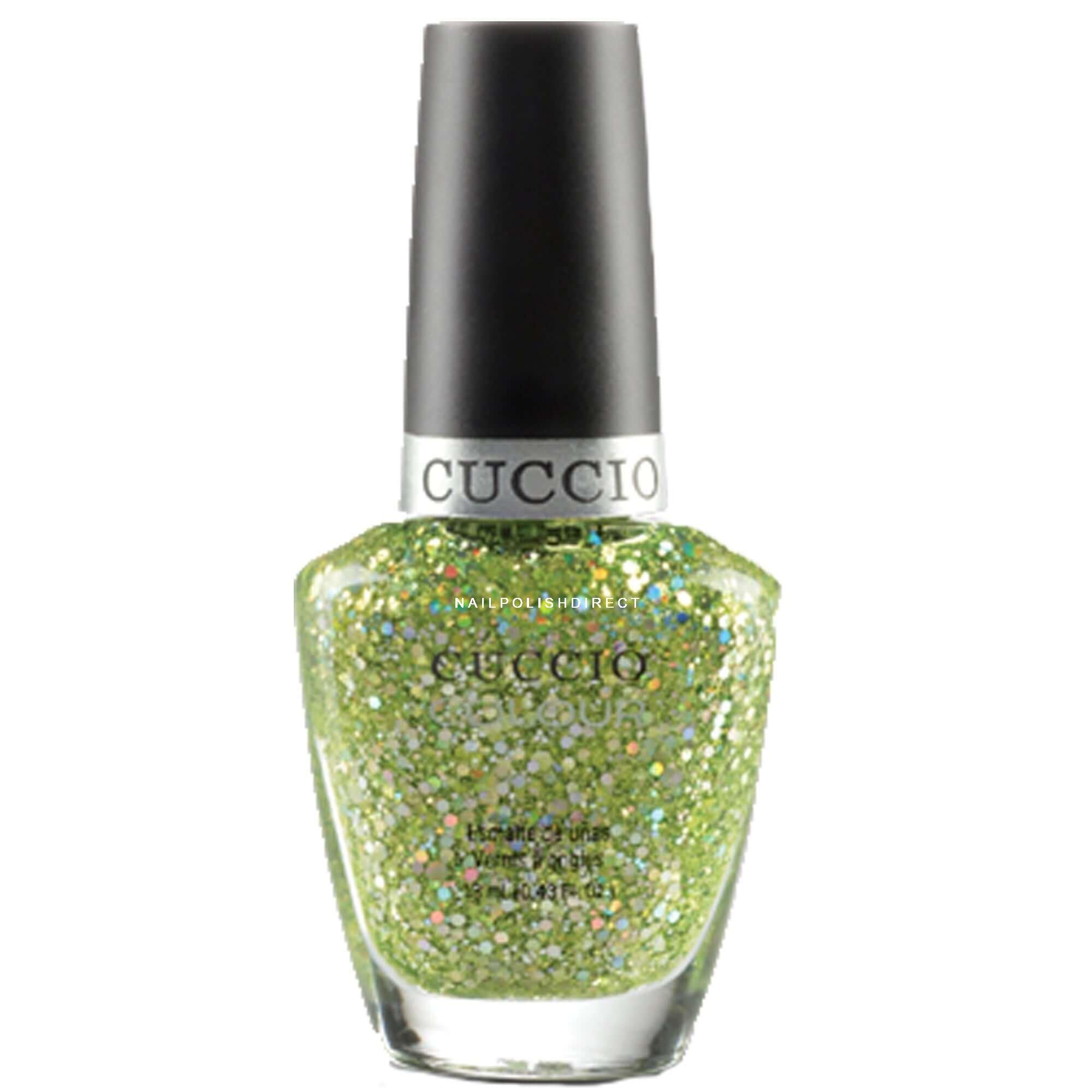 Cuccio Nail Polish Glitter - To Bend Light