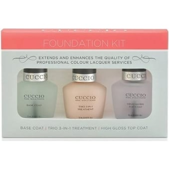 Nail Treatment Foundation Kit - 3 in 1 Trio (x3 13ml)