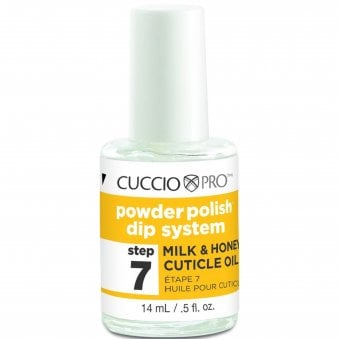 Powder Polish Dip System - Step 7 - Milk and Honey Cuticle Oil 14ml
