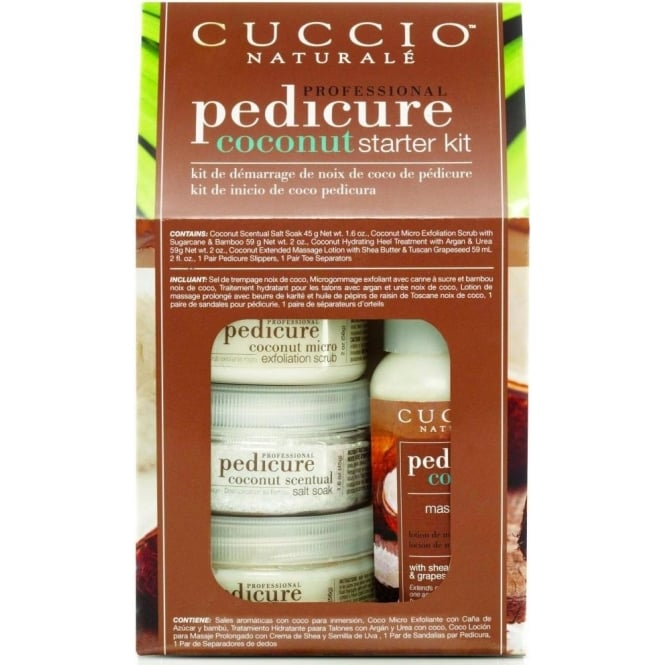 Cuccio Professional Pedicure - Coconut Starter Kit (x6 Piece) (3290)