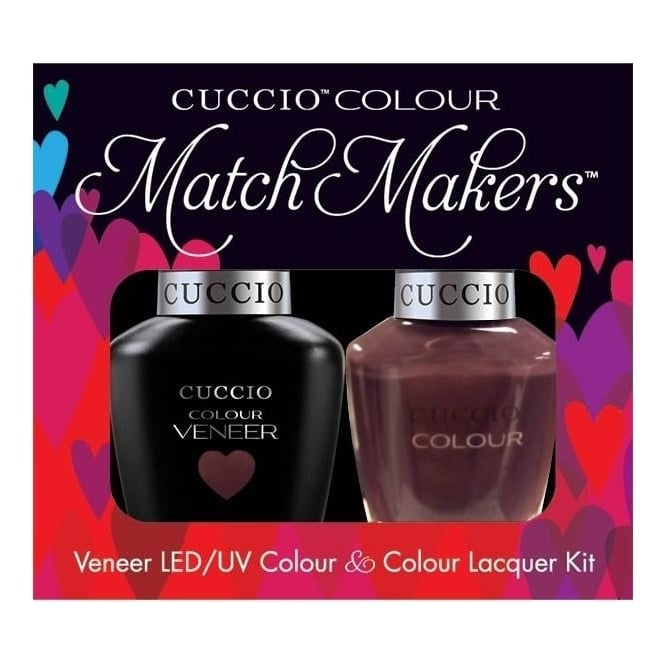 Cuccio Royale Veneer UV/LED Polish Match Maker Sets - Count me In x2 13ml