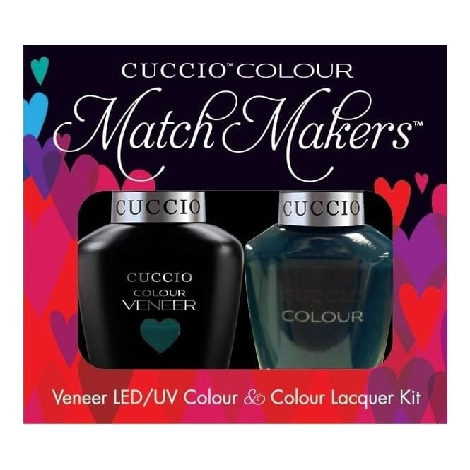 Cuccio Royale Veneer UV/LED Polish Match Maker Sets - Prince Ive Been Gone x2 13ml