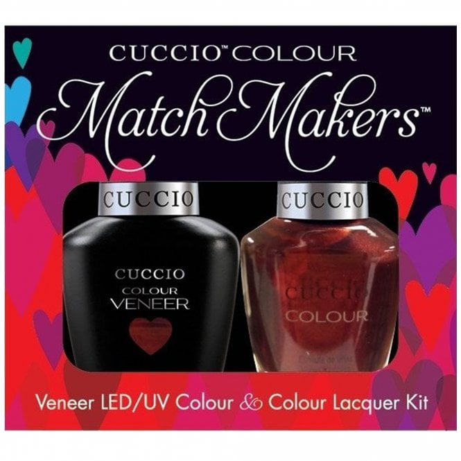 Cuccio Royale Veneer UV/LED Polish Match Maker Sets - Royal Flush x2 13ml