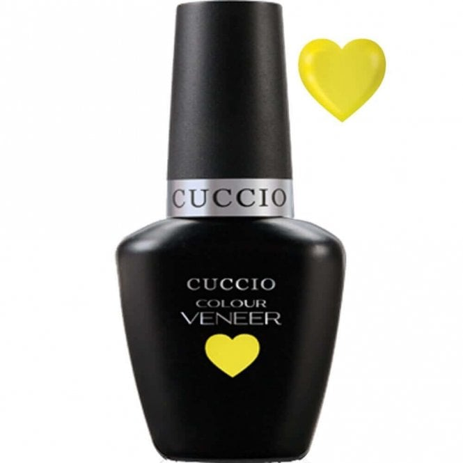Cuccio Soak Off LED/UV Color Gel Polish - Lemon Drop A Lime 13ML (6156LED)