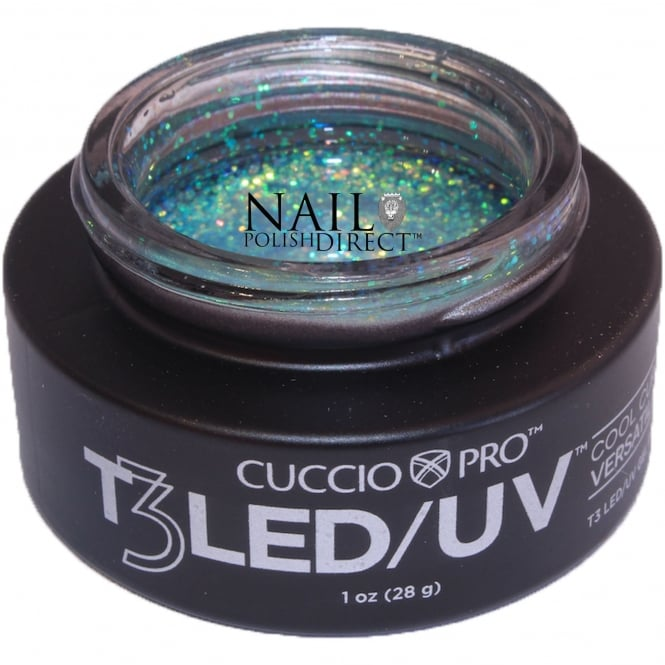 Cuccio T3 LED/UV Cool Cure Versatility Gel - Fairy Dust 28g (CP6977LED)