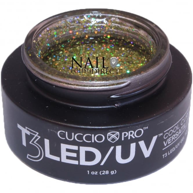 Cuccio T3 LED/UV Cool Cure Versatility Gel - Gold Fever 28g (CP6975)