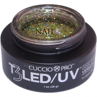 T3 LED/UV Cool Cure Versatility Gel - Gold Fever 28g (CP6975)