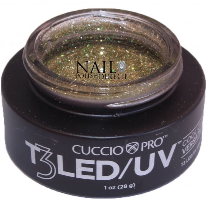 Cuccio T3 LED/UV Cool Cure Versatility Gel - Gold Rush 28g (CP6964LED)