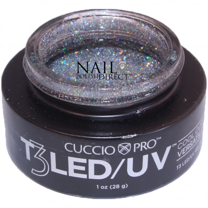 Cuccio T3 LED/UV Cool Cure Versatility Gel - Platinum 28g (CP6969LED)
