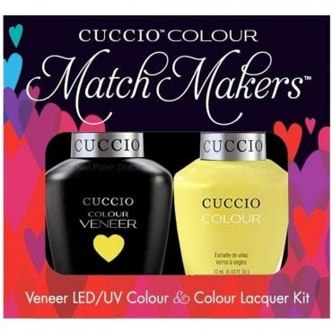 Veneer UV/LED Polish Match Maker Duo Set - Lemon Drop Me A Line (2x 13mL)