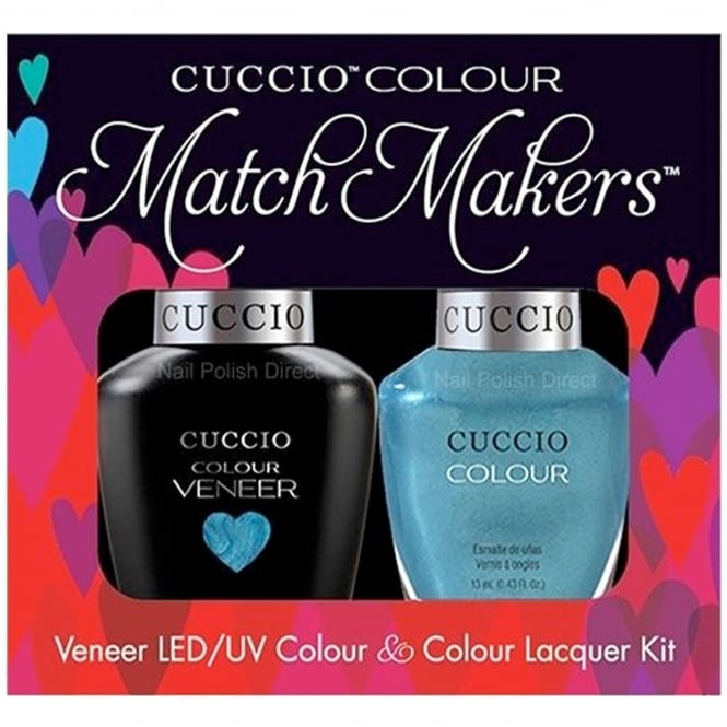 Cuccio Veneer UV/LED Polish Match Maker Duo Set - Sugar Daddy (2x 13mL)