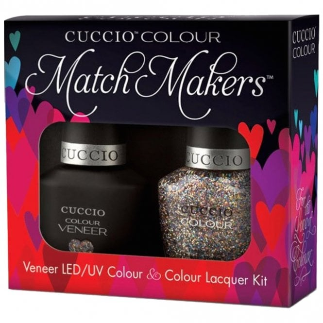 Cuccio Veneer UV/LED Polish Match Maker Sets - Bean There Done That x2 13ml (6120LEDMATCHMAKER)