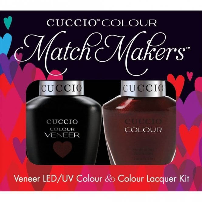 Cuccio Veneer UV/LED Polish Match Maker Sets - Beijing Night Glow x2 13ml (6028LEDMATCHMAKER)
