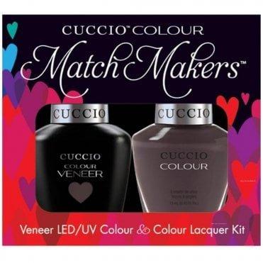 Cuccio Veneer UV/LED Polish Match Maker Sets - Belize In Me x2 13ml