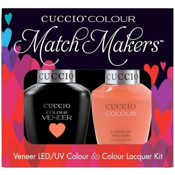 Cuccio Veneer UV/LED Polish Match Maker Sets - California Dreamin x2 13ml (6145LEDMATCHMAKER)