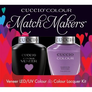Veneer UV/LED Polish Match Maker Sets - Cheeky In Helsinki x2 13ml