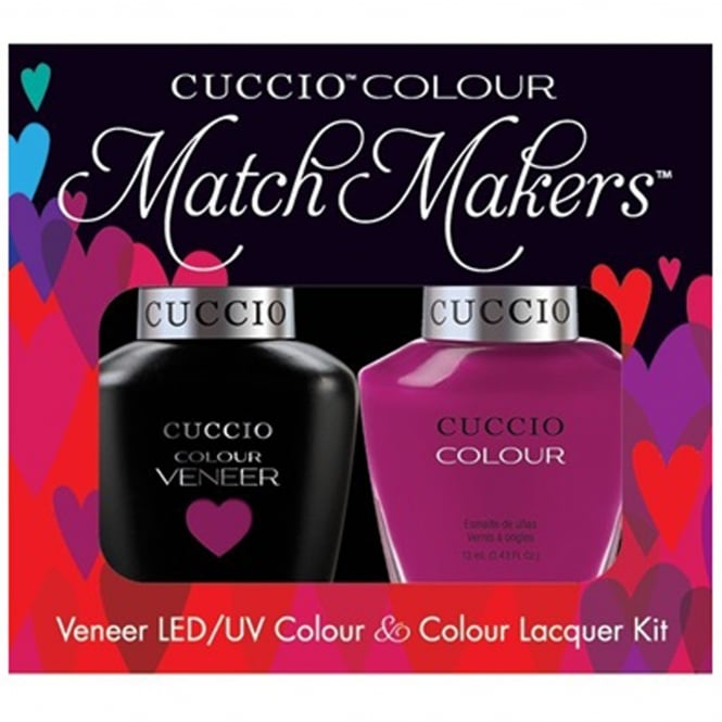 Cuccio Veneer UV/LED Polish Match Maker Sets - Eye Candy In Miami x2 13ml (6039LEDMATCHMAKER)