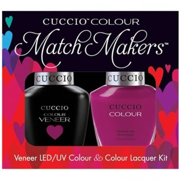 Veneer UV/LED Polish Match Maker Sets - Eye Candy In Miami x2 13ml